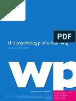 Psychology Elearning 2010