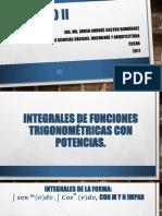 4. Integrales Trigonometricas Con Potencias