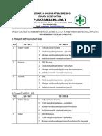 7.2.1.2 Persyaratan Kompetensi, Pola Ketenagaan Dan Kondisi Ketenagaan Yang Memberikan Pelayanan Klinis