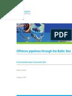 EIS Offshore Pipeline