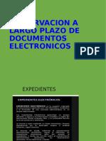 Presentacion de Archivos Electronicos