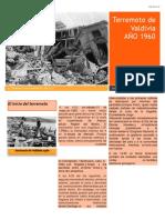 Trabajo Historia Riesgos Naturales Terremoto de Valdivia