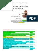 Lista Completa de Remates Judiciales Valdor