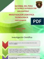 Investigacion Cientifica Tecnologica