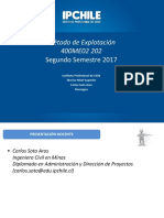 2° - 2017 Clase Metodo de Explotación martes