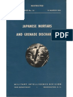 Special Series No. 30 Japanese Mortars & Grenade Dischargers