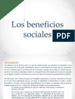 4.-Los Beneficios Sociales