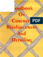 Sp 34 - 1987 Handbook on Concrete Reinforcement and Detailing