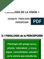 Unidad III-Fisiología de La Percepción-Alumnos-2018