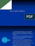 Presentación 13 (Discusión Teórica)