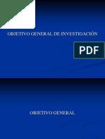 Presentación 9 (Objetivo General)