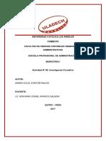 Actividad 09 Investigacion Formativa