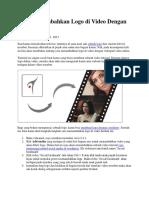 Cara Menambahkan Logo Di Video Dengan Videopad