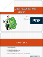Mine Planning and Design
