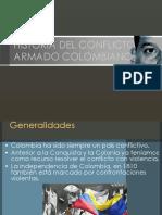 Historia Del Conflicto Armado Colombiano