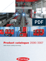 Fronius 2006-2007 Product Catalogue