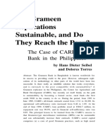 Are Grameen Replication Sustainable