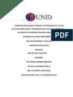 Diseño de Técnicas y Estrategias Para El Aprendizaje Del Inglés