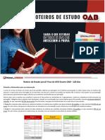 1522254078Roteiro Estudo 120 Dias XXVI Exame OAB 1Fase
