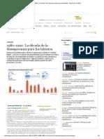 1980-1990_ La Década de La Desesperanza Para Los Talentos - Nacional y Política