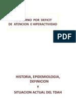 Trastorno Por Défcit Atencional e Hiperactividad (1)