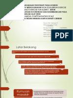 Penatalaksanaan Fisioterapi Pada Kondisi Parkinson Menggunakan Non Equilibrium