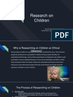research on children
