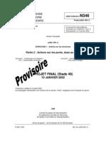 EC1- En 1991-1-2- Actions Sur Les Ponts, Dues Au Trafic
