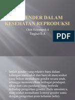 Isu Gender Dalam Kesehatan Reproduksi