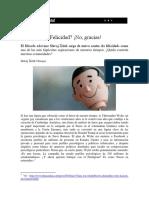 Art - Felicidad No Gracias, ŽIŽEK (2018)