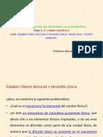 8 clase Cambio fónico regular y difusión léxica 8.pdf