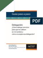 AFIP - Delegacion de Servicios - Tutorial - Instructivo - PasoaPasoServiciosdelegacionCF