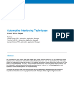 Automotive Interfacing Techniques Whitepaper v1