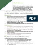LEED AP BDC Course Information