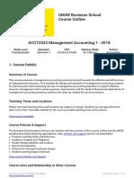 CO ACCT2522 Semester 1 2018