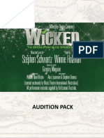 Wicked Audition Pack