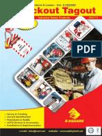 E-Square Alliance Pvt. Ltd. - Lockout Tagout Catalogue