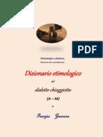 Dizionario etimologico del dialetto chioggiotto