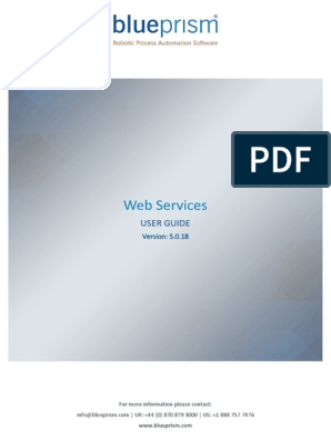 Tmp_25782-Blue Prism User Guide - Web Services1513988512