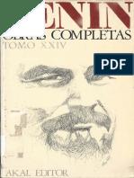 Lenin Oc Tomo 24