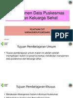 7. Manajemen Data