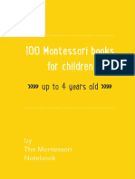 75 Books for Montessori Children