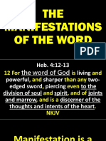 The Manifestations of the Word