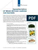 Tailored Information Cashew Nut West Africa Product Characteristics West Africa Europe Processed Fruit Vegetables Edible Nuts 2014