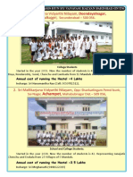 Chatrawas or Hostels run by Vanvasi Kalyan Parishad in Telangana Leaflet