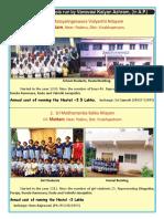Chatrawas or Hostels run by Vanvasi Kalyan Parishad in AP