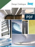 Acoustic Design Catalogue 2016
