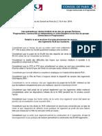 A Paris, le vœu des macronistes pour le logement social