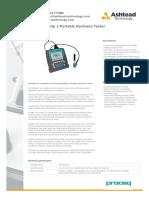 Proceq Equotip 3 Portable Hardness Tester