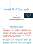 (2) Smart Grid Concepts PPT Oct 24